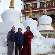 The Ice Man Visits Ice Stupa