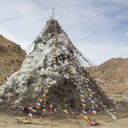 Ice Stupa on 18th of April 2015...