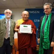 HH The Gyalwang Drikungpa receives the title of Good Will Ambassador to the UN
