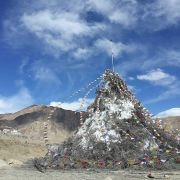 Ice Stupa on 1st of May 2015...